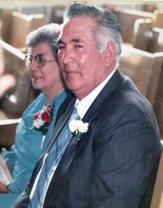 Photo of Wallace and Pauline Bernard sitting.